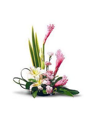 Pin artificiales arreglo floral flores secas 24 hawaii - Arreglos florales con flores secas ...